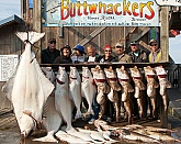 Big Halibut and Lingcod: Big Halibut and Lingcod: Saltwater Fish Mounts