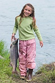 Kids Fishing - Sockeye Salmon: Kids Fishing - Sockeye Salmon - RL Fish Taxidermy