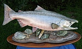 King Salmon Fish Mount: King Salmon Fish Taxidermy: Best Fish Mounts in Alaska